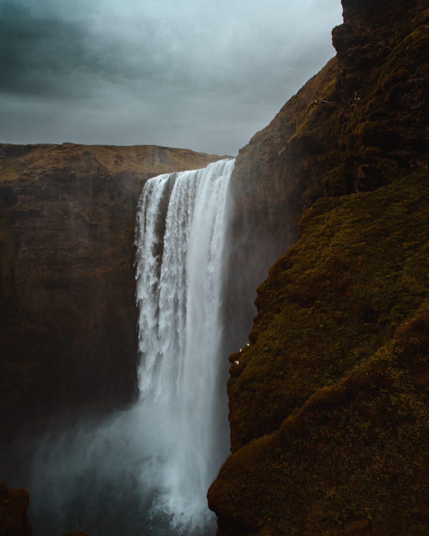 Skogafoss, Waterfall, Iceland