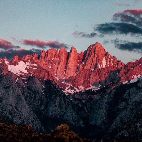 Mt. Whitney, Mountains, Sunrise, Sierras