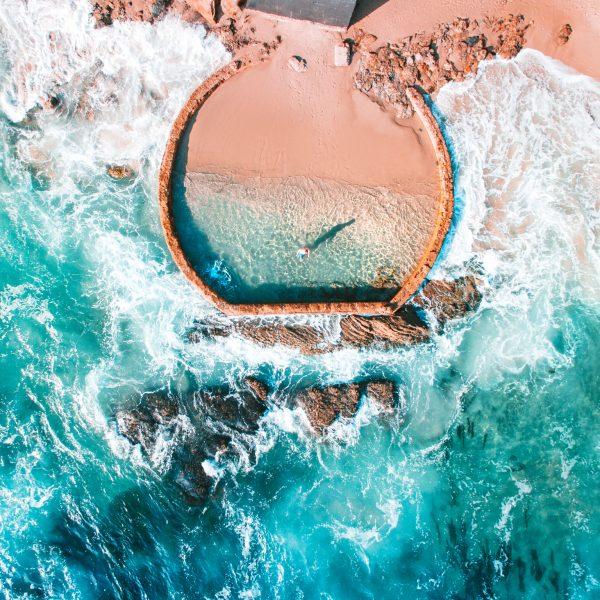Laguna, Ocean, Water, Longnecker, Drone