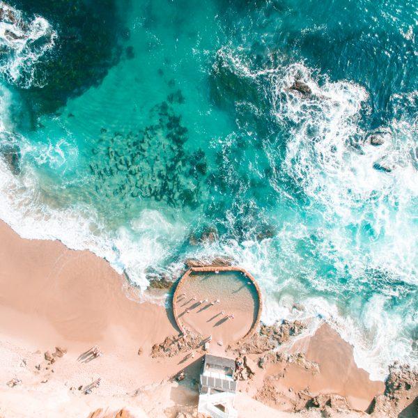Laguna, Drone, Ocean, Longnecker